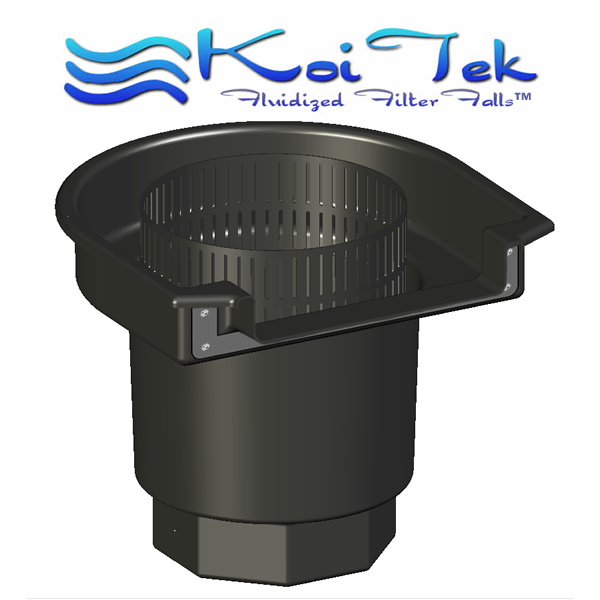 Koitek filters systems for Self cleaning pond filter